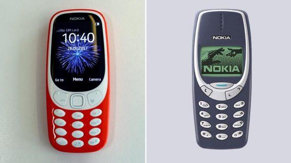Nokia 3310 – nou vs vechi