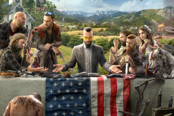 Ubisoft prezinta primul artwork cu Far Cry 5!
