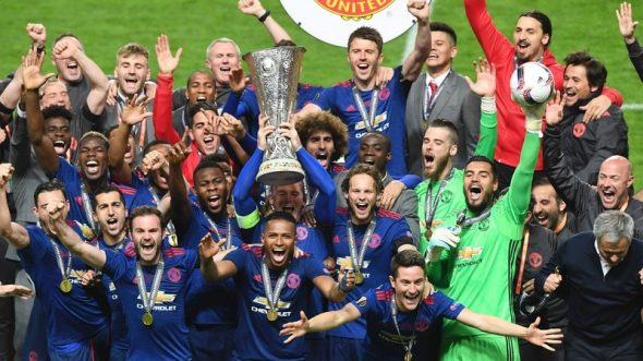 Manchester United castiga UEFA Europa League!